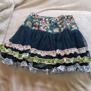 Matilda Jane Twirl Skirt Size 6